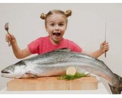 Рыба в питании ребенка