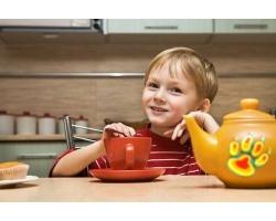 Кофе и чай в рационе ребенка