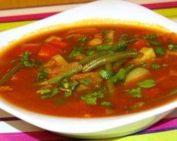 Суп со свёклой