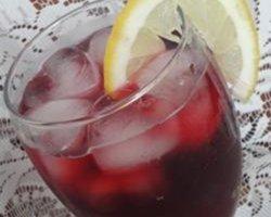 Агуа-де-Ямайка (напиток с Гибискусом)