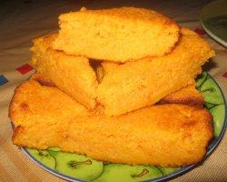 Морковный пирог без муки