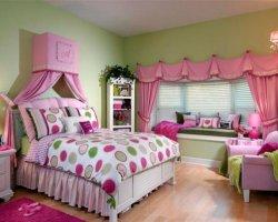 Интерьер спальни для девушки