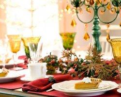 Как украсить новогодний стол в год Лошади