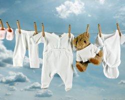 Чем стирать детское белье?