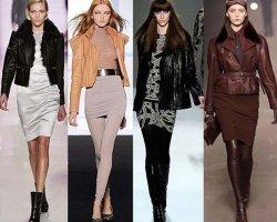 С чем носить кожаные куртки, чтобы выглядеть стильно?