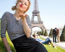 Французкий и английский стиль настоящей девушки