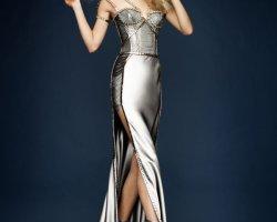 С чем носить серебряное платье?