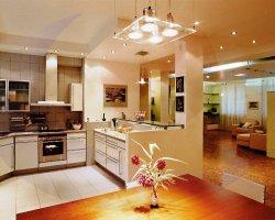 Какой свет выбрать для кухни