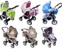 По каким принципам выбрать коляску для ребенка?
