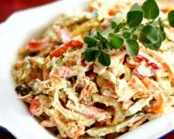 Самые вкусные салаты на Новый год 2016, рецепты с фото