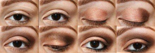 Макияж для карих глаз – каждый день новый образ