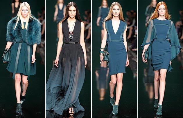 9e5892bde20 Именно такими будут модные платья Осень-Зима 2015–2016. Долой минимализм и  лаконичность — пришло время для роскошных и ярких моделей!