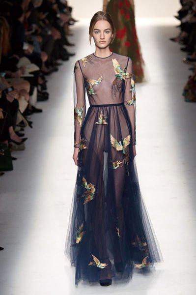 aca57d4c55b Известные кутерье ведущих домов мод в новом осенне-зимнем сезоне  постарались на славу