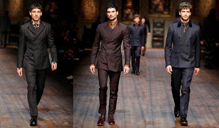 e91912d8c6e9 Модные тенденции мужской одежды, Осень-Зима 2016-2017  материалы и стили