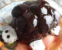 Праздничный торт «Черепаха»