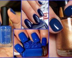 Модные ногти, Зима 2015 -2016: фото самых модных вариантов дизайна ногтей, Осень-Зима 2015-2016