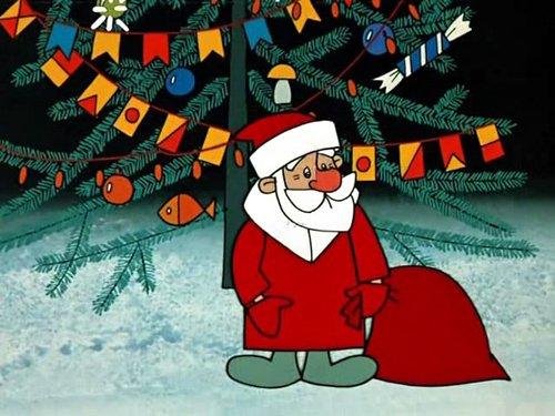Картинка из мультиков про новый год