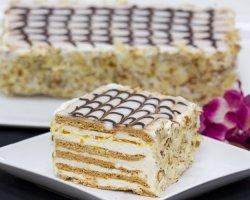 Торт на Новый год: торт эстерхази, рецепт с фото