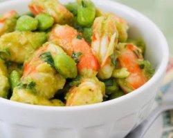 Салат из авокадо с креветками: оригинальные рецепты с фото для новогоднего стола