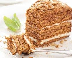 Готовим вкусный медовый торт
