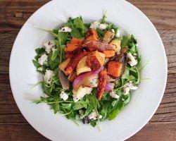 Вегетарианские блюда на праздничный стол: блюда из овощей на Новый год 2015