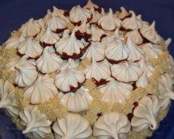 Классический рецепт торта Графские развалины с безе с фото