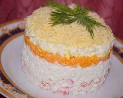 Готовим необычный салат «Нежность»