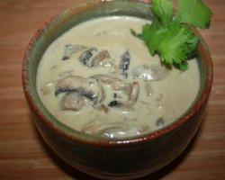 Суп из белых замороженных грибов