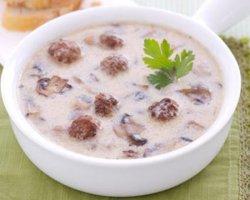 Как приготовить вкусный крем-суп из замороженных грибов, рецепт