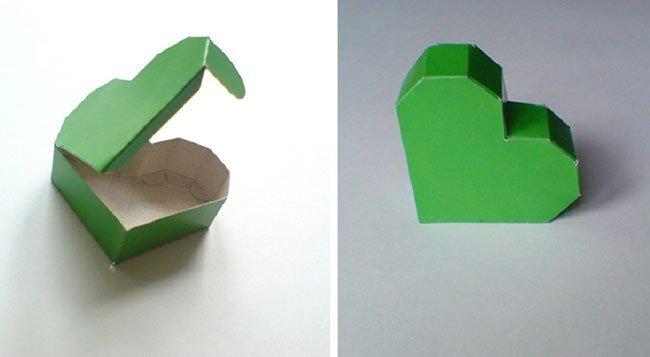 Видео как сделать коробочку сердечко из бумаги 376