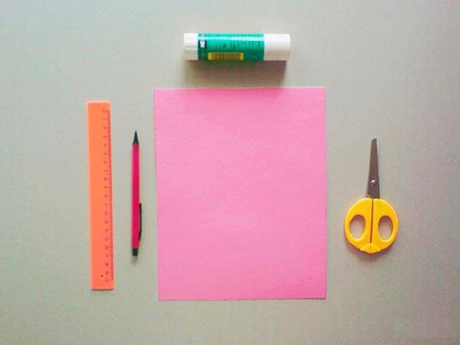 Юбилеем лет, как сделать открытку своими руками из бумаги без клея и ножниц