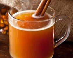 Чай с апельсином и корицей, рецепт с фото