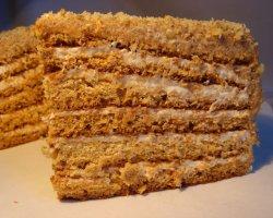 Тортик со сгущенкой – простое лакомство из детства