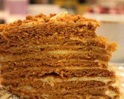 Рецепт торта «Рыжик» на каждый день и к праздничному столу
