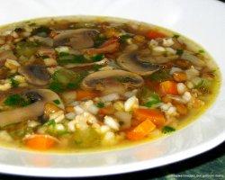 Шедевр домашней кухни – супчик из грибной сушки