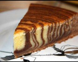 Полосатый красавец – торт «Зебра» к домашнему столу