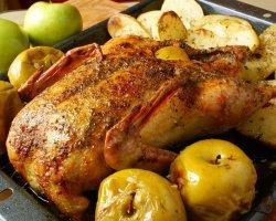 Рецепт калорийной, но такой притягательной утки, запеченной в рукаве