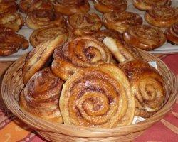 Как приготовить сладкие булочки с корицей по-шведски, рецепт