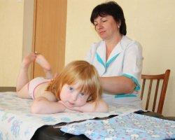 Рекомендации по точечному массажу для детей