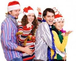 Веселые конкурсы на Новый год для взрослых и детишек