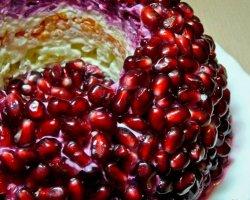 Салат «Гранатовый браслет» и секреты его приготовления