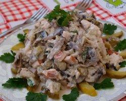 Салат с омлетом: блюдо на изысканный манер