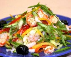 Популярные салаты для похудения: рецепты