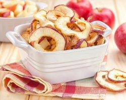 Сушеные яблоки: польза, вред, калорийность