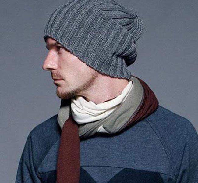 как связать мужскую шапку спицами для начинающих фото и видео как