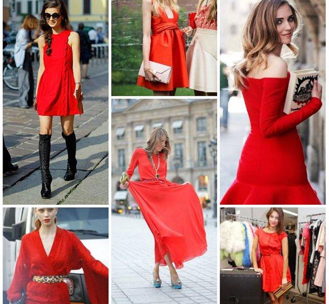 acd2b10cb10 Как правильно выбрать аксессуары к красному платью Сложно что-либо  противопоставить красоте и сексуальности красного платья. Это цвет страсти
