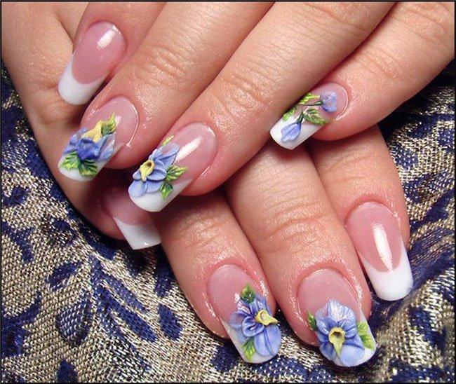 дизайн ногтей аквариумный дизайн фото