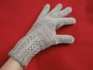 как связать перчатки спицами мастер класс пошаговые фото тёплые