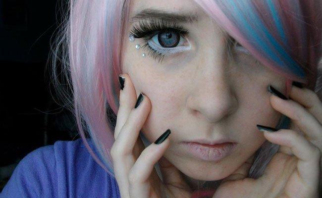Как сделать аниме макияж фото 450