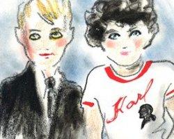Карл Лагерфельд разрабатывает новую линию одежды – детскую